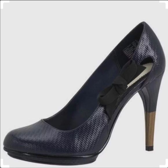 bed6eb175d Lela Rose Shoes | For Payless Heels Navy Size 9 | Poshmark